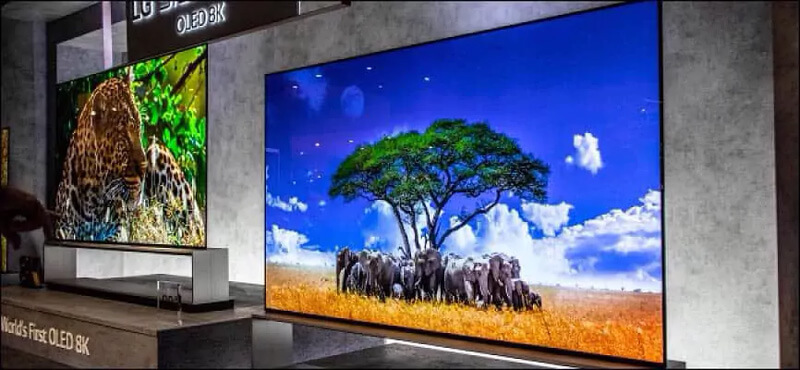Primer televisor 8K OLED