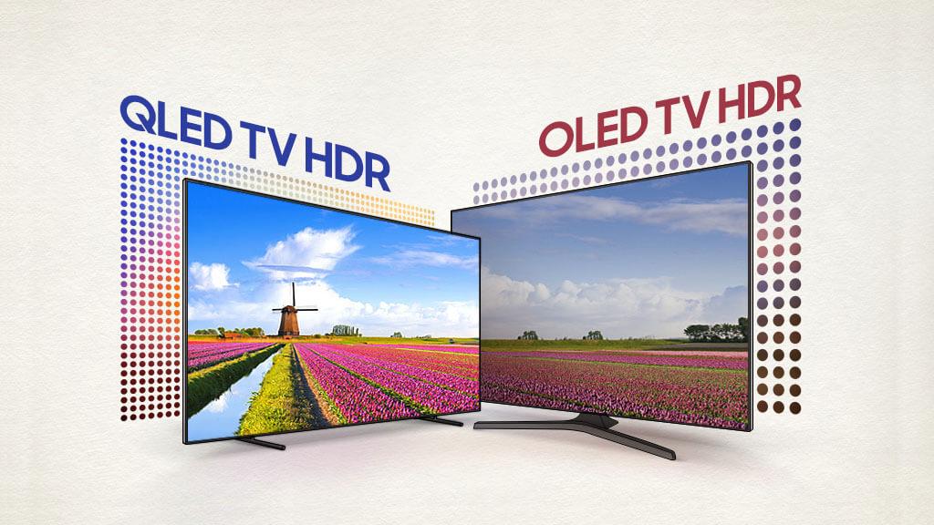 QLED vs OLED televisores