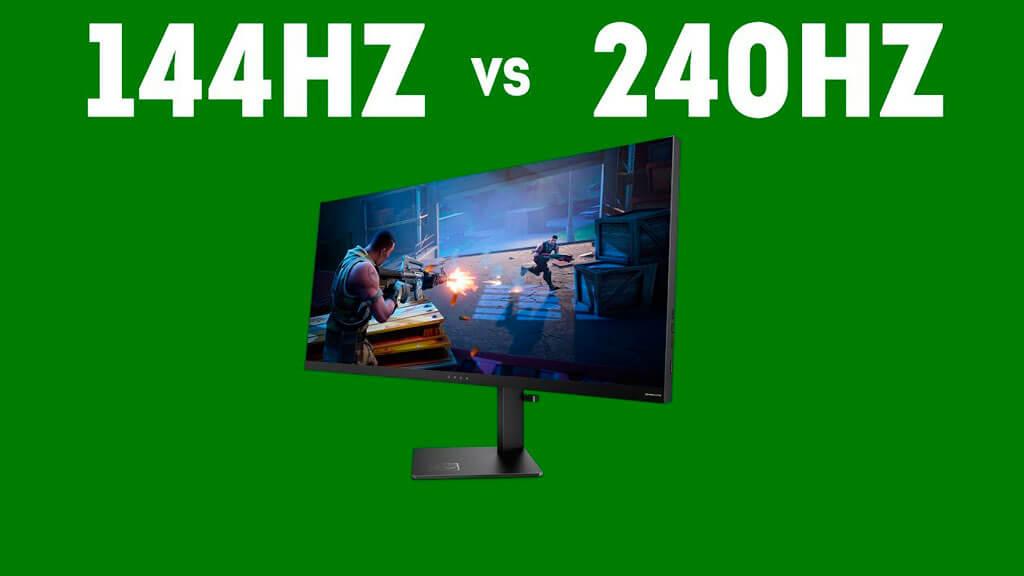 144hz vs 240hz diferencias