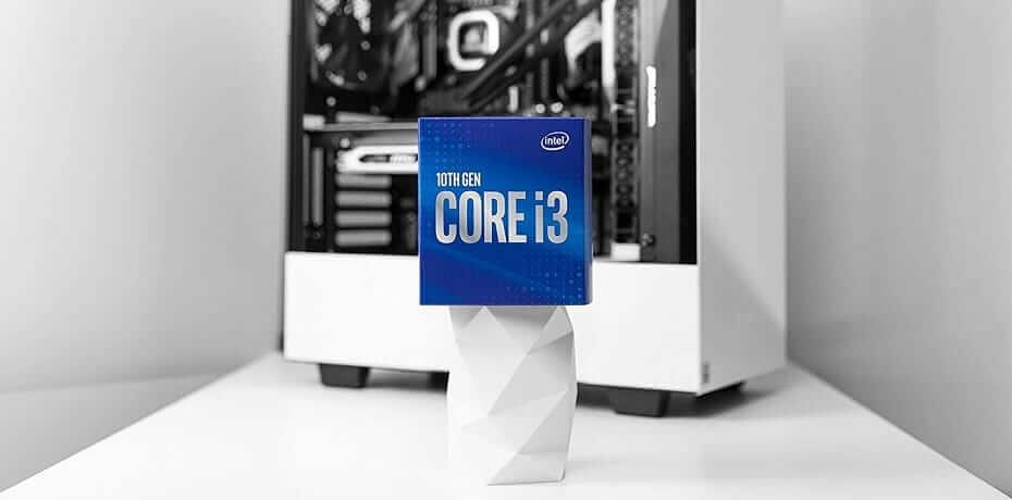 Intel Core i3 10100 especificaciones