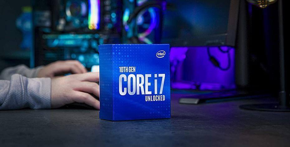 Intel Core i7 10700K CPU