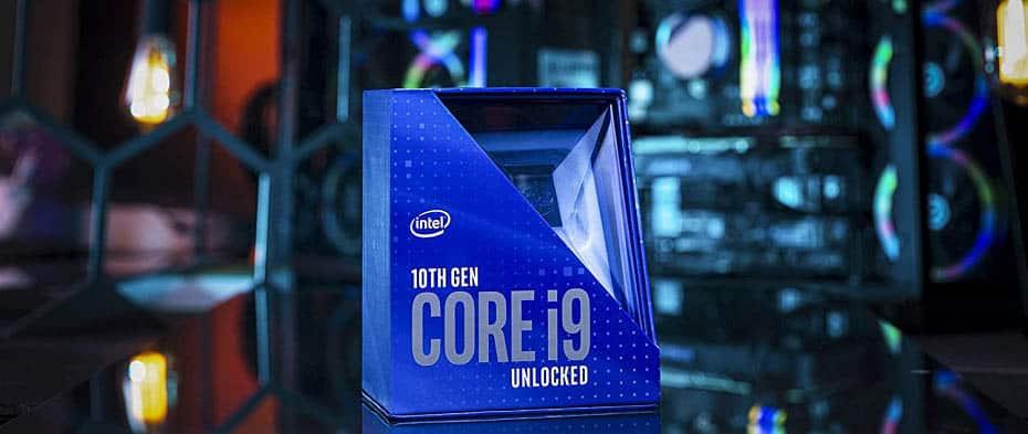 Intel Core i9 10900K CPU