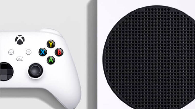 Xbox Series S mando