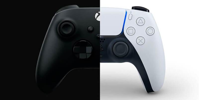 Xbox Series X mando vs DualSense