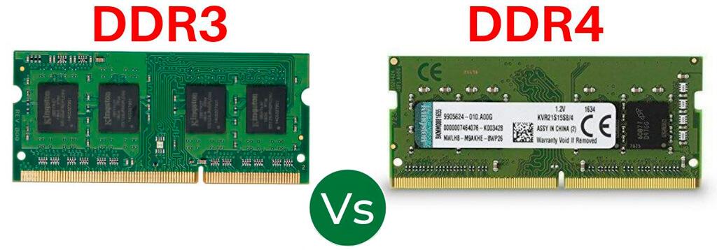 ddr3 vs ddr4 diferencias