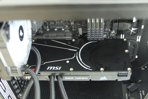 GTX 1660 Super Tarjeta Grafica backplate