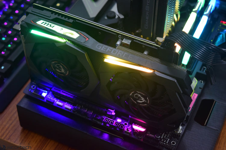 GTX 1650 super estetica