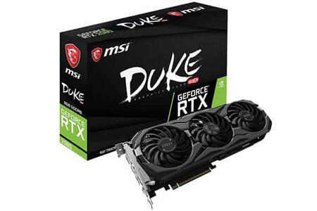 MSI Duke GeForce RTX 2080