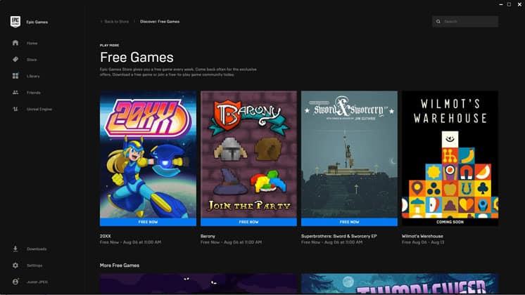 EGS y Steam juegos gratis