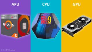 APU vs CPU vs GPU