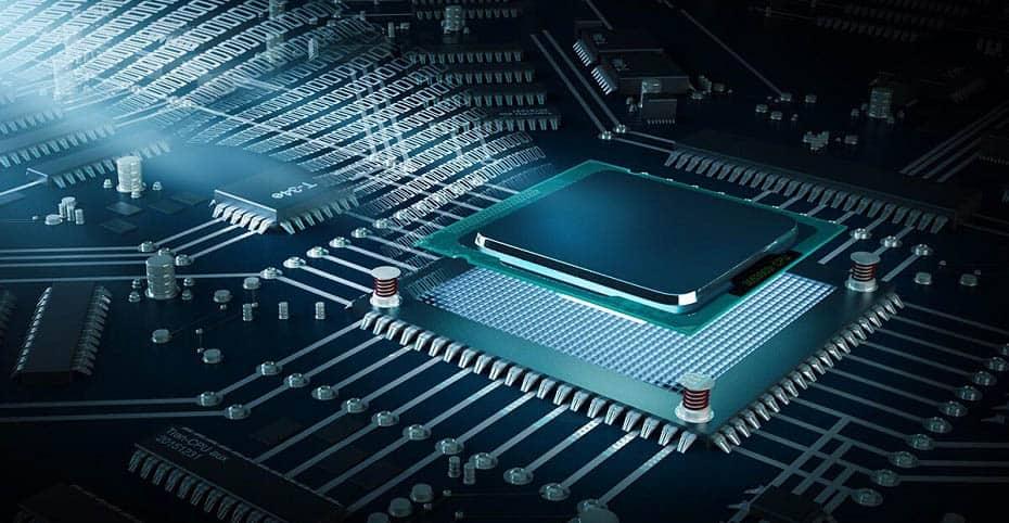 Un procesador CPU